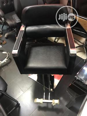 Leather Barbing Salon Seat | Furniture for sale in Lagos State, Ojo