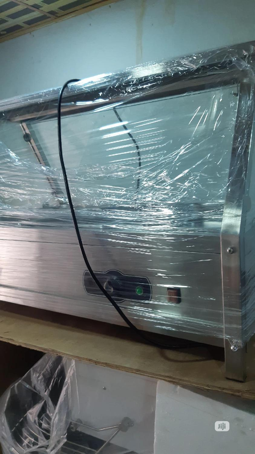Brand New Food Warmer Display Showcase | Restaurant & Catering Equipment for sale in Amuwo-Odofin, Lagos State, Nigeria