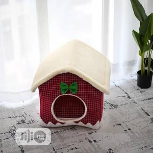 Pet House With Christmas Design | Pet's Accessories for sale in Lagos State, Amuwo-Odofin