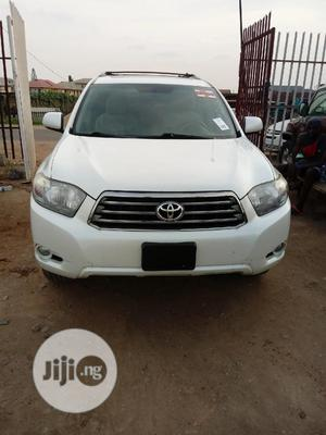 Toyota Highlander 2008 Sport White | Cars for sale in Lagos State, Isolo