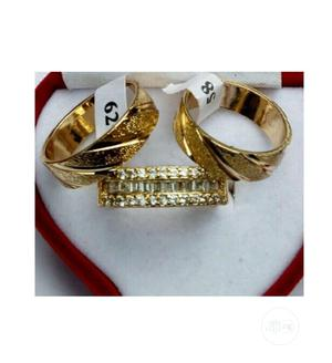 18k Gold Plated Wedding Rings | Wedding Wear & Accessories for sale in Lagos State, Surulere