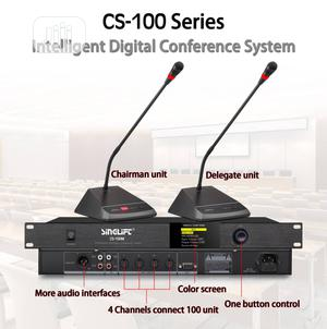 Conference Microphone System With Chairman and Delegates. | Audio & Music Equipment for sale in Lagos State, Ikeja