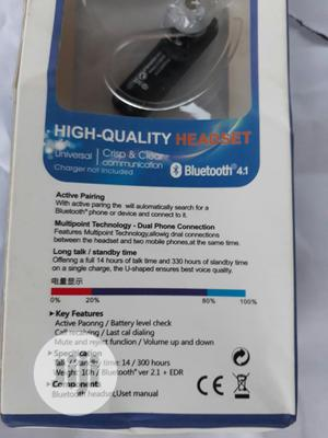 Bluetooth Wireless Headset   Accessories for Mobile Phones & Tablets for sale in Imo State, Owerri