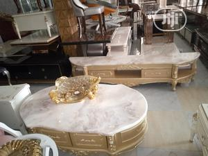 Quality Marble Top Center Table and Tv Stand | Furniture for sale in Anambra State, Awka