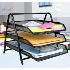 3 Tiers Document Tray ( Black ) | Stationery for sale in Lagos State, Lagos Island (Eko)
