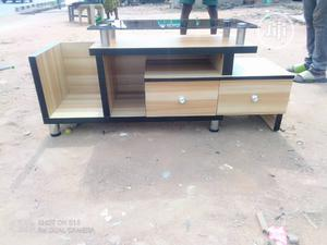 Tv Stand With Glass and Drawer | Furniture for sale in Lagos State, Ojo