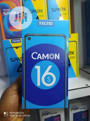 New Tecno Camon 16S 128 GB Gray | Mobile Phones for sale in Lagos State, Ikeja