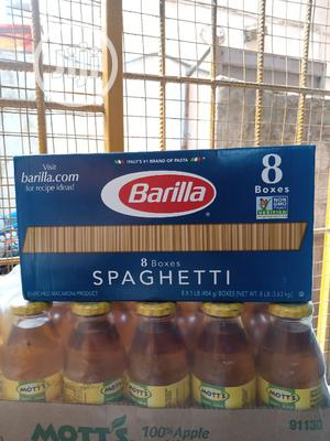 Barilla 8 Boxes Spaghetti   Meals & Drinks for sale in Lagos State, Surulere