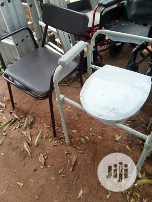 Commode Wheel Chair | Medical Supplies & Equipment for sale in Lagos State, Alimosho