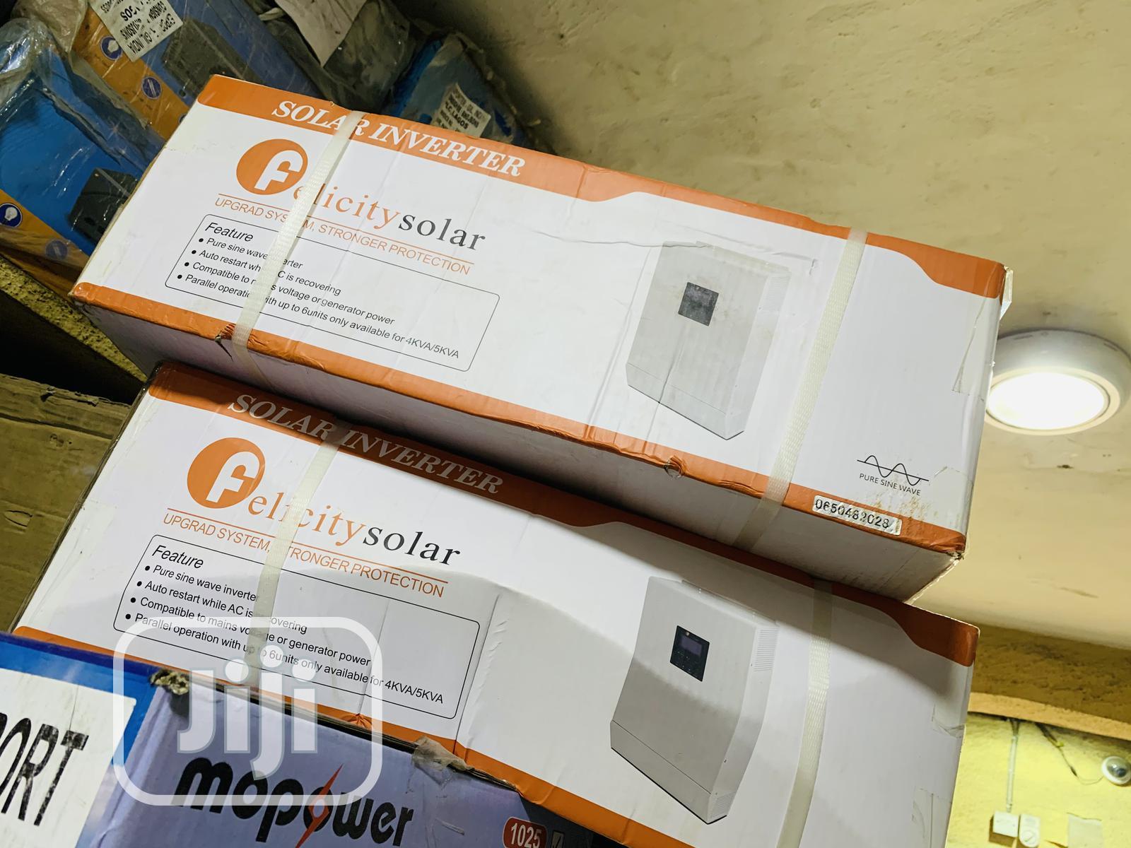 5kva 24v Felicity Hybrid Inverter