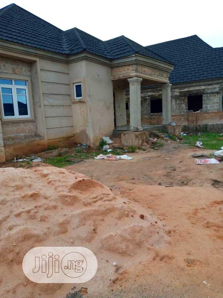 Archive: Uncompleted Standard 3-bedroom Bungalow At Airport Road, GRA