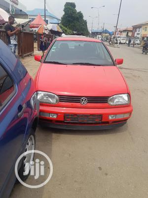 Volkswagen Golf 1999 2.0 Red   Cars for sale in Lagos State, Surulere