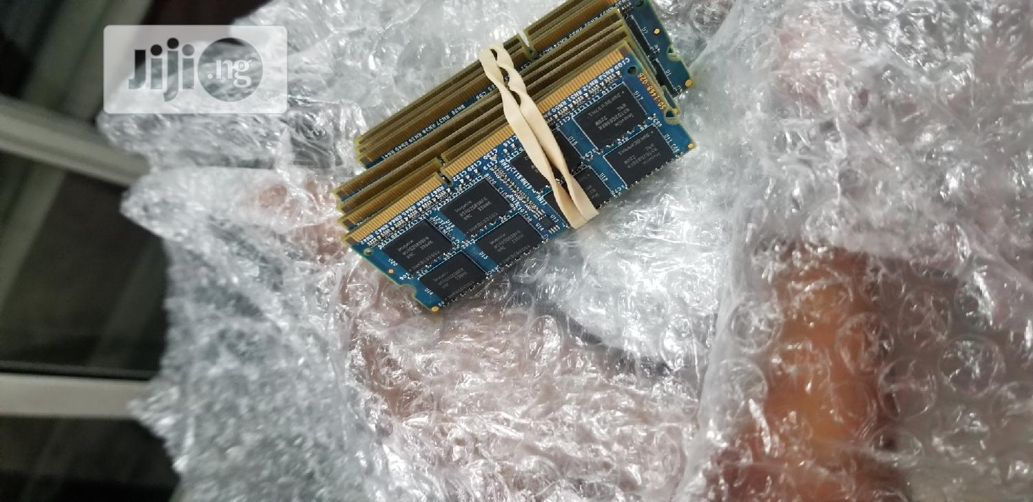 Archive: 4gb DDR3 Memory (Laptop Memory)