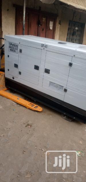 40KVA Perkins Sound Proof Diesel Generator | Electrical Equipment for sale in Lagos State, Ojota