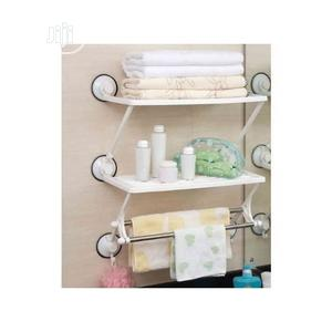 Double Layer Bathroom And Kitchen Rack - Shelf - Hanger | Home Accessories for sale in Lagos State, Lagos Island (Eko)