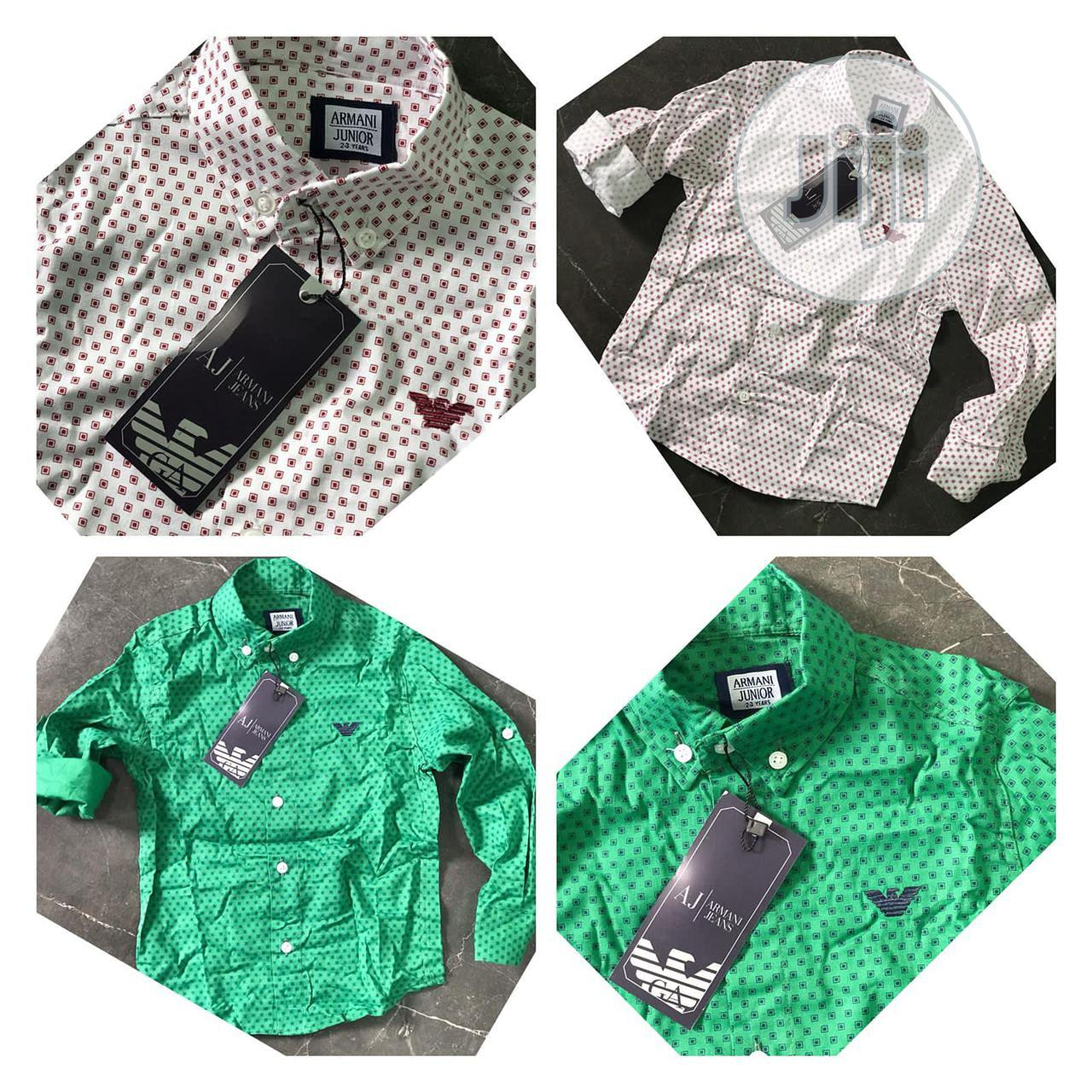 Archive: Green Boys' Shirt