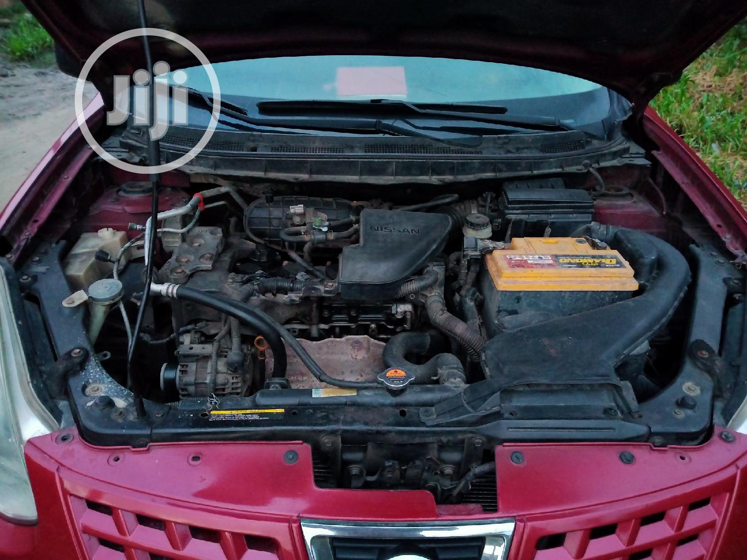 Nissan Rogue 2008 SL 4WD Red | Cars for sale in Ajah, Lagos State, Nigeria