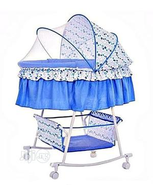 Rocking Bassinet/Cot With Wheels and Storage | Children's Furniture for sale in Oyo State, Ibadan