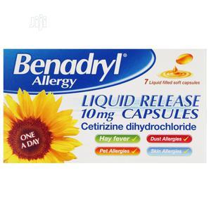 Benadryl Allergy Liquid Release Capsules | Vitamins & Supplements for sale in Lagos State, Ojo