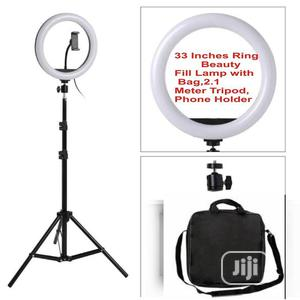 Light Dimmable 33 Inches LED Ring For Phones Youtube Makeup | Accessories & Supplies for Electronics for sale in Lagos State, Apapa