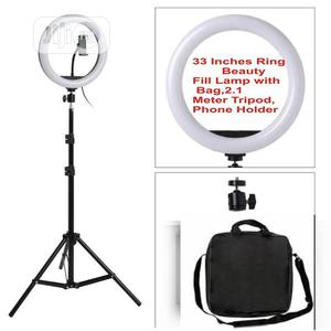 LED Ring Light 33inches Dimmable With 2.1meter Tripod,Bag | Accessories & Supplies for Electronics for sale in Oyo State, Ibadan