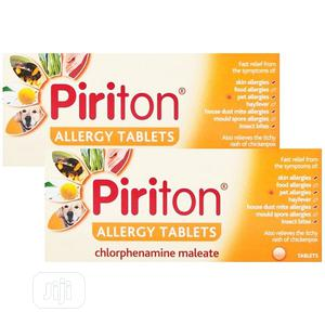 Piriton Piriton 4mg Allergy Tablets | Vitamins & Supplements for sale in Lagos State, Ojo