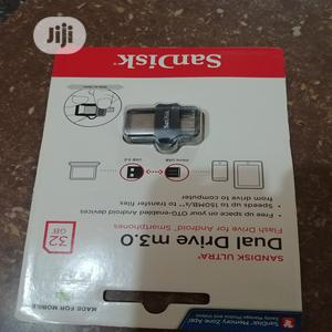 Sandisk 32GB Ultra OTG Dual USB Flash Drive 3.0   Computer Accessories  for sale in Lagos State, Ikotun/Igando
