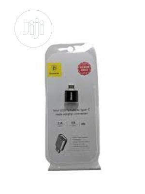 Baseus Mini Micro Female to Type C Male Adapter Converter | Accessories for Mobile Phones & Tablets for sale in Lagos State, Ikeja