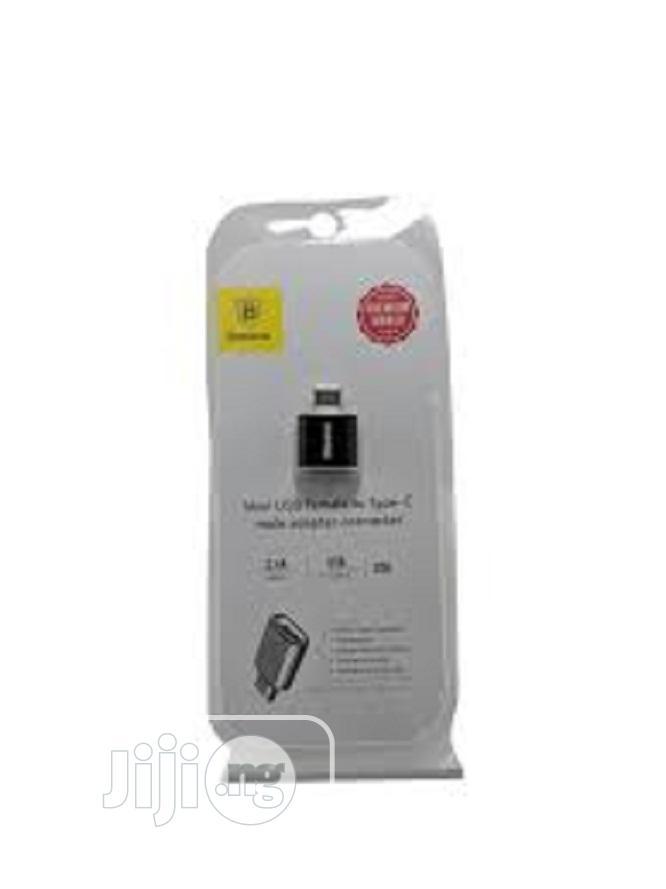 Baseus Mini Micro Female to Type C Male Adapter Converter