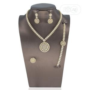 4 Piece Bridal Set Accessories   Jewelry for sale in Lagos State, Ajah