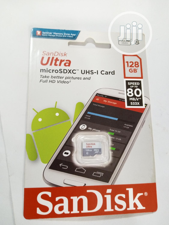 128GB Sandisk Ultra Micro SD Card