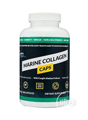 Marine Collagen Dietary Supplement - 180 Capsules   Vitamins & Supplements for sale in Lagos State, Yaba