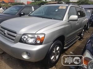 Toyota Highlander 2005 4x4 Silver   Cars for sale in Lagos State, Amuwo-Odofin