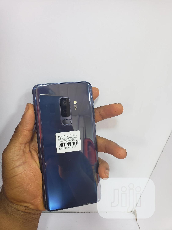 Samsung Galaxy S9 Plus 64 GB Blue | Mobile Phones for sale in Ikeja, Lagos State, Nigeria