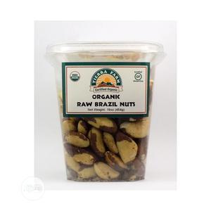 Tierra Farm 100% USDA Organic Raw Brazil Nuts, 16 Oz 454 G   Meals & Drinks for sale in Lagos State, Amuwo-Odofin