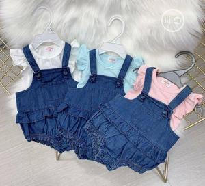 2pieces Top And Romper   Children's Clothing for sale in Lagos State, Lagos Island (Eko)