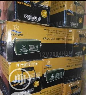 Neptune Solar Battery 12v/200ahs | Solar Energy for sale in Lagos State, Ojo