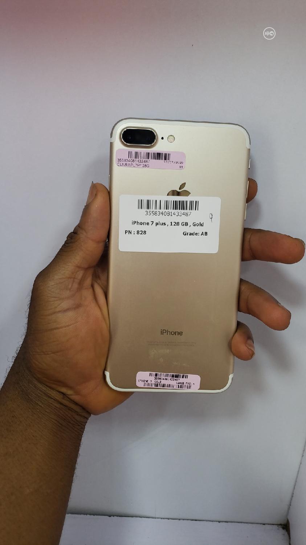 Apple iPhone 7 Plus 128 GB Gold   Mobile Phones for sale in Ikeja, Lagos State, Nigeria