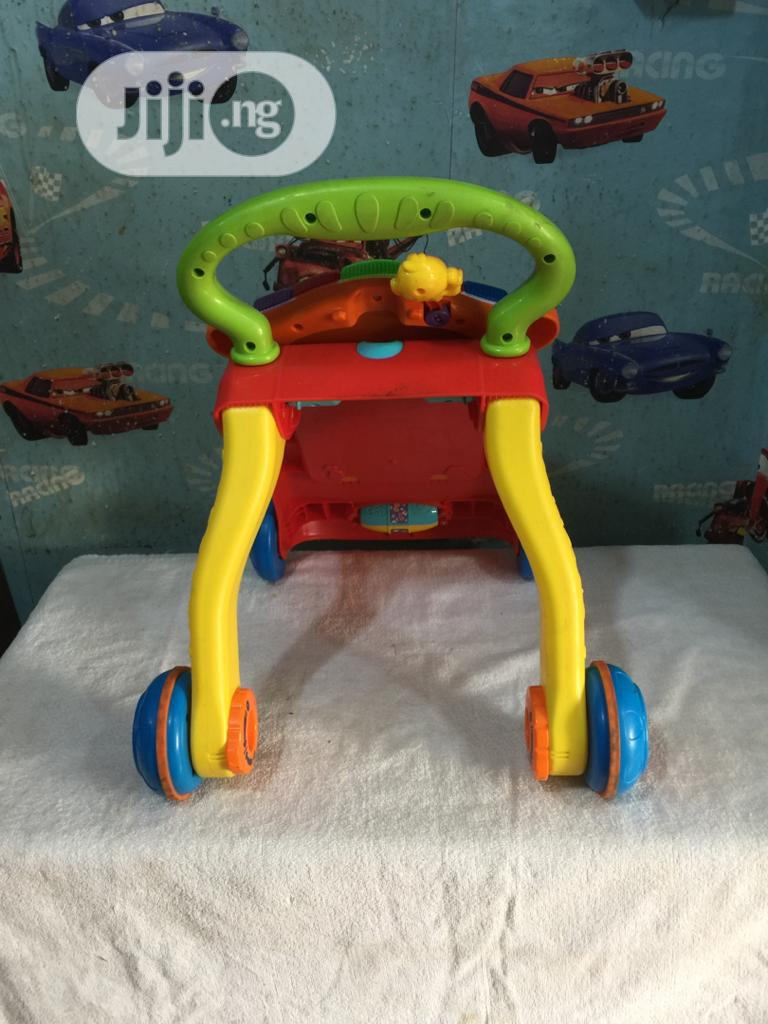 Tokunbo Uk Used Pushing Baby Walker   Children's Gear & Safety for sale in Ojodu, Lagos State, Nigeria