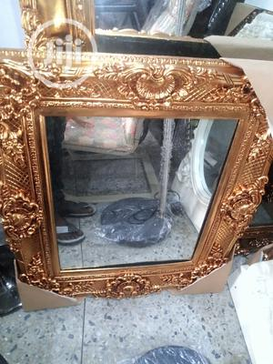 Gold High Classy Wall Mirror | Home Accessories for sale in Lagos State, Surulere