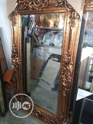 Gold Classic Wall Mirror | Home Accessories for sale in Lagos State, Surulere