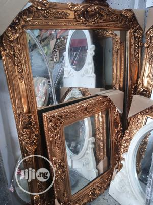 Wall Gold Mirror | Home Accessories for sale in Lagos State, Surulere