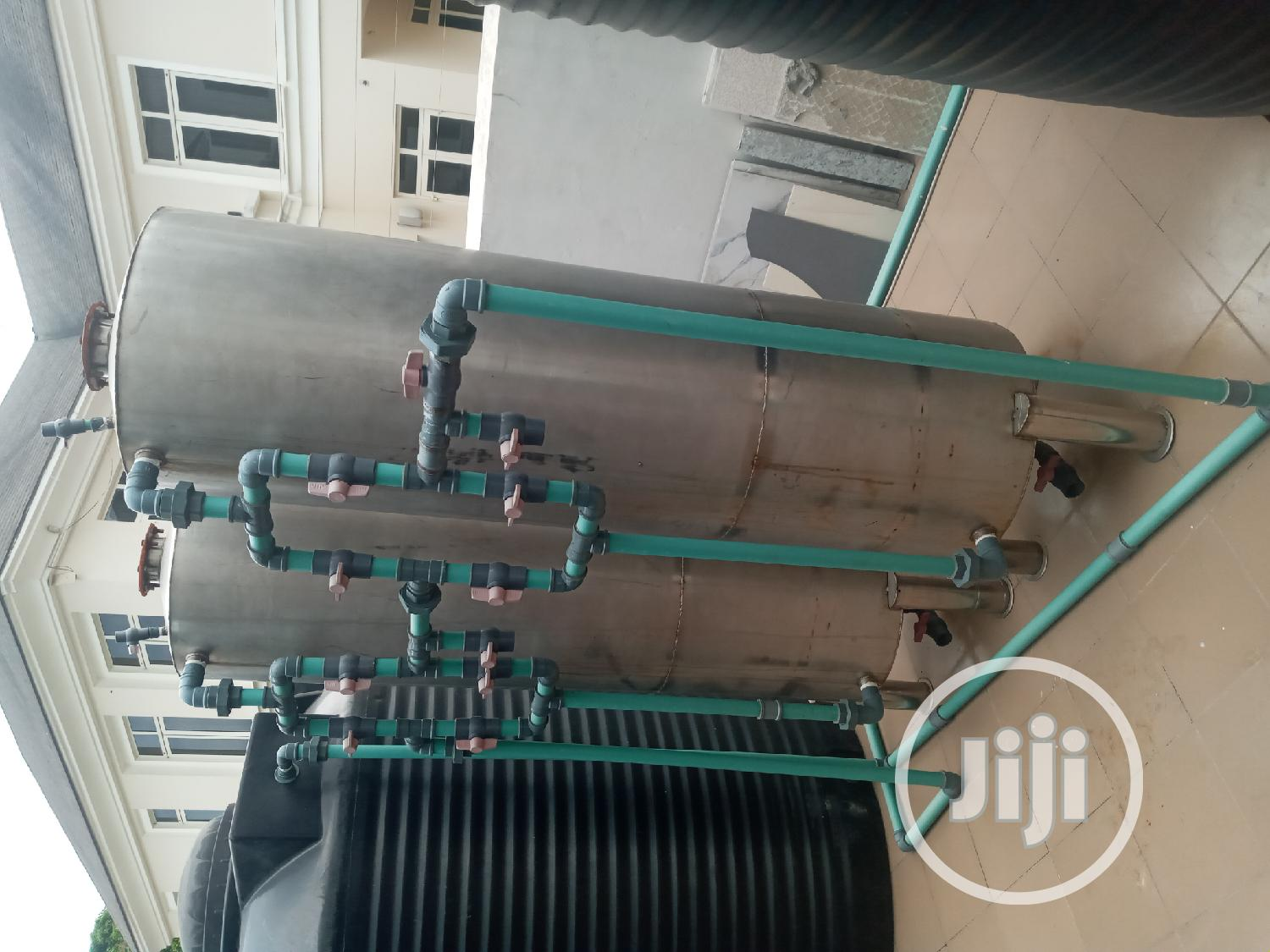 Water Treatment Plant Stainless Tank 40inches