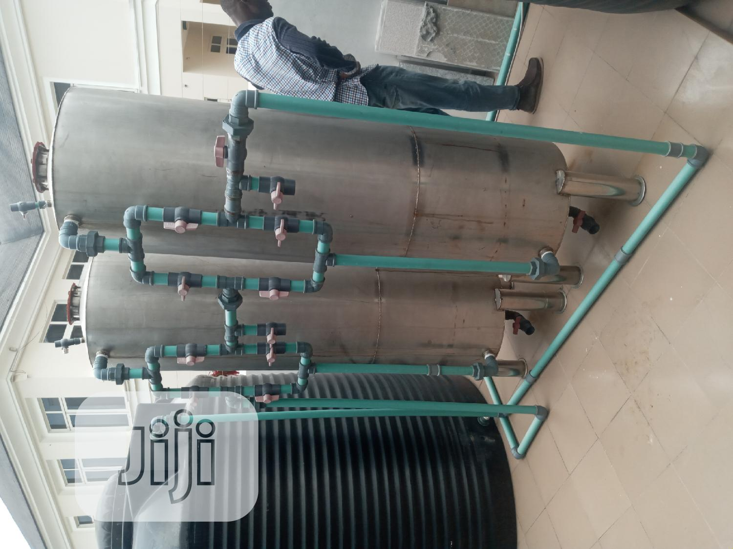 Water Treatment Plant Stainless Tank 40inches | Manufacturing Equipment for sale in Orile, Lagos State, Nigeria