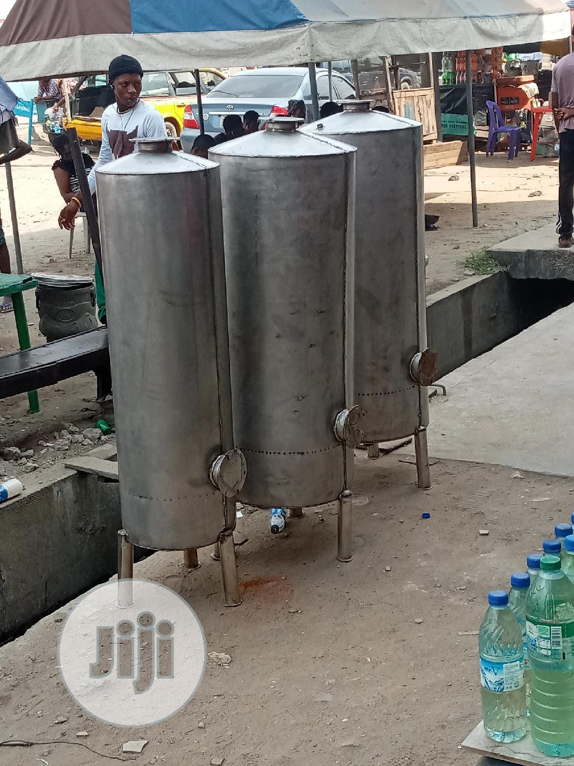 Water Treatment Plant Stainless Tank 24inches