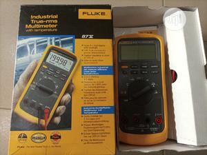 Fluke 87V Industrial True-rms Multi-meter With Temperature | Measuring & Layout Tools for sale in Rivers State, Port-Harcourt