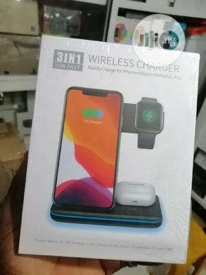 3in1 Wireless Charger 15W   Accessories for Mobile Phones & Tablets for sale in Lagos State, Ikeja
