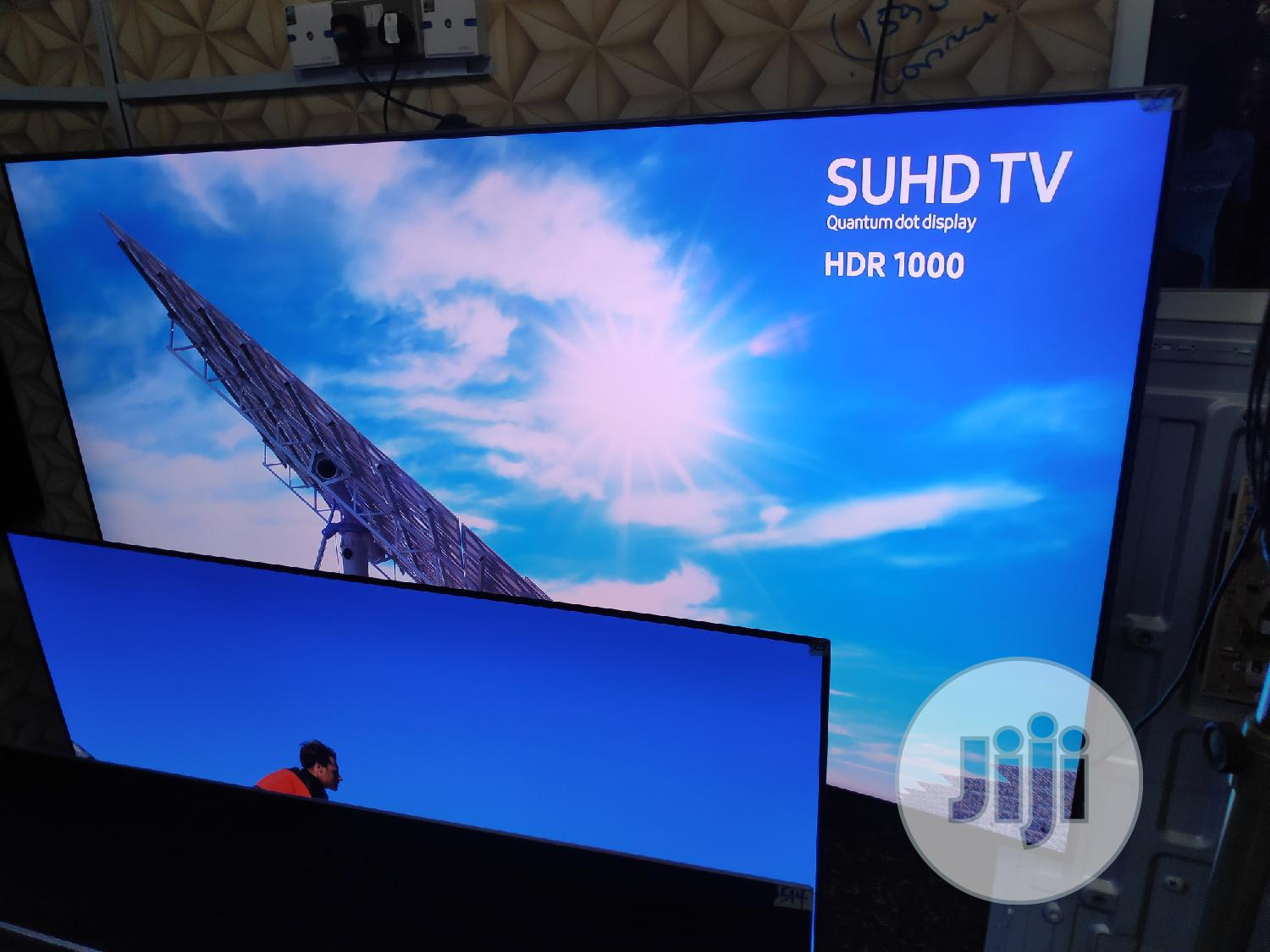 """78"""" Samsung Curved 4k Suhd Smart Tv(Series 9) 