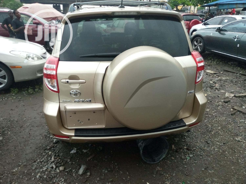 Toyota RAV4 2010 Gold | Cars for sale in Apapa, Lagos State, Nigeria