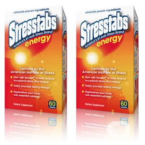 Stresstabs Energy Anti-Stress Brand 60 Tablets | Vitamins & Supplements for sale in Anambra State, Awka